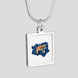 High Jumping Athlete Necklaces