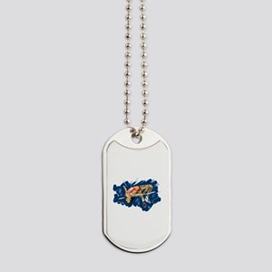 High Jumping Athlete Dog Tags