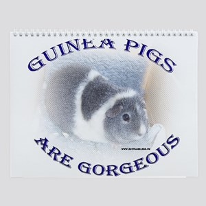 Guinea Pigs Are Gorgeous Wall Calendar