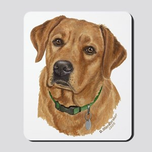 Fox Red Labrador Mousepad