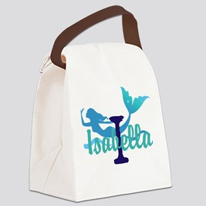 Mermaid Personalize Canvas Lunch Bag