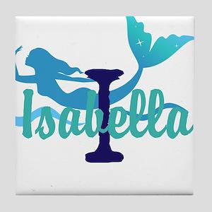 Mermaid Personalize Tile Coaster