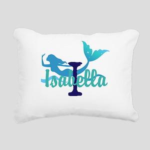 Mermaid Personalize Rectangular Canvas Pillow