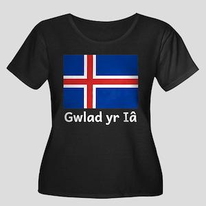 Gwlad yr Ia Plus Size T-Shirt