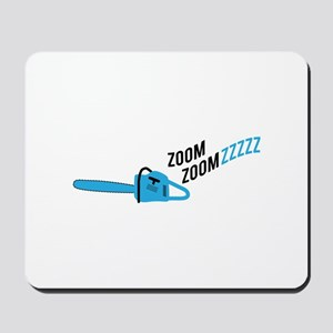 Chainsaw Zoom Mousepad