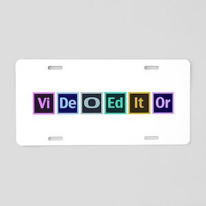 Adobe Video Editor - Aluminum License Plate