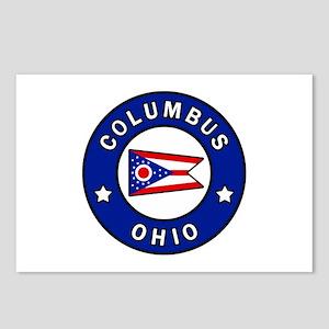 Columbus Ohio Postcards (Package of 8)
