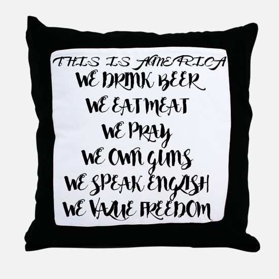 Unique Mohammed Throw Pillow