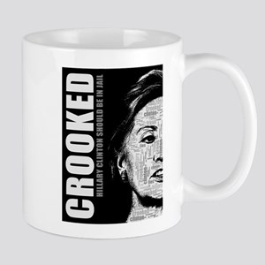 Crooked Hillary Clinton Mugs