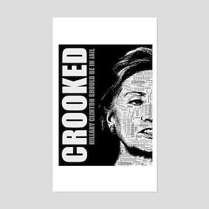 Crooked Hillary Clinton Sticker