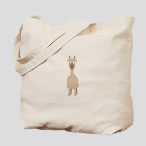 Brown Alpaca Tote Bag