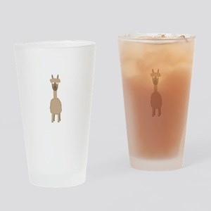 Brown Alpaca Drinking Glass