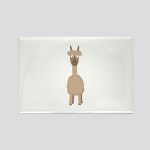 Brown Alpaca Magnets