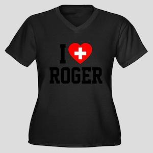 I Love Roger Plus Size T-Shirt
