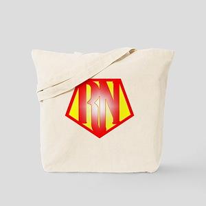 RN Superhero Tote Bag