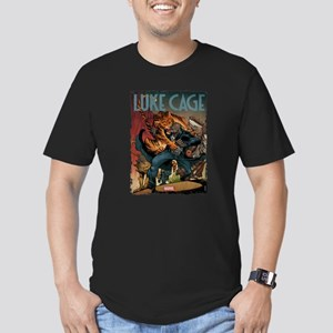 Luke Cage Tiger Men's Fitted T-Shirt (dark)