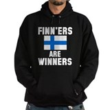 Finners are winners Dark Hoodies