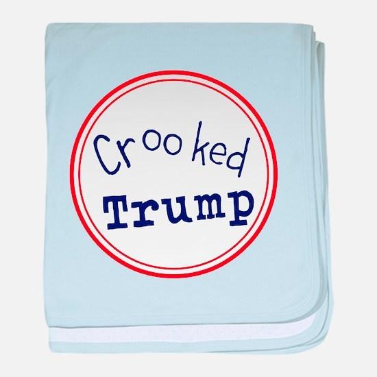 Crooked Trump baby blanket