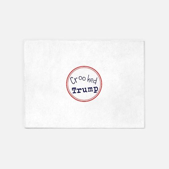 Crooked Trump 5'x7'Area Rug