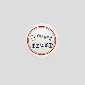 Crooked Trump Mini Button