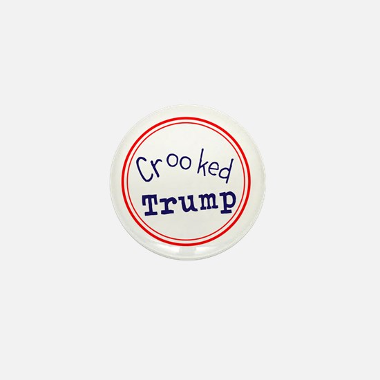 Crooked Trump Mini Button