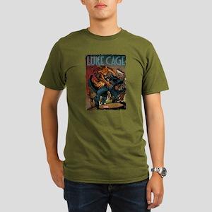 Luke Cage Tiger Organic Men's T-Shirt (dark)
