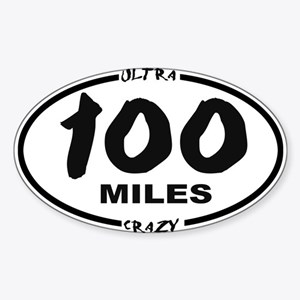 100 Miles - Ultra Crazy Sticker
