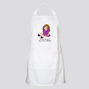 Purple - Rag Doll BBQ Apron