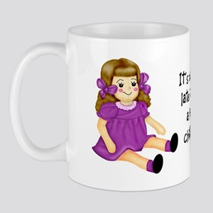 Purple - Rag Doll Mug