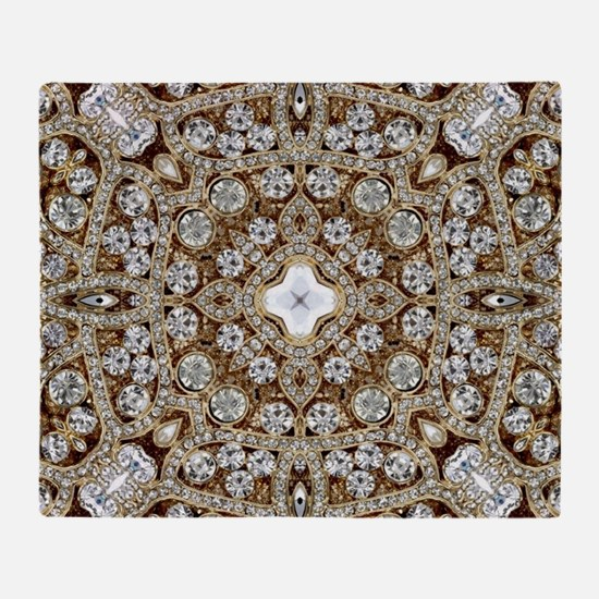 Crystal Throw Blanket