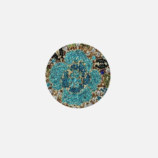 Unique Jewel Mini Button