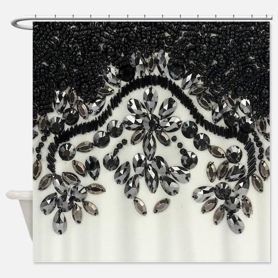 Glitter Shower Curtain