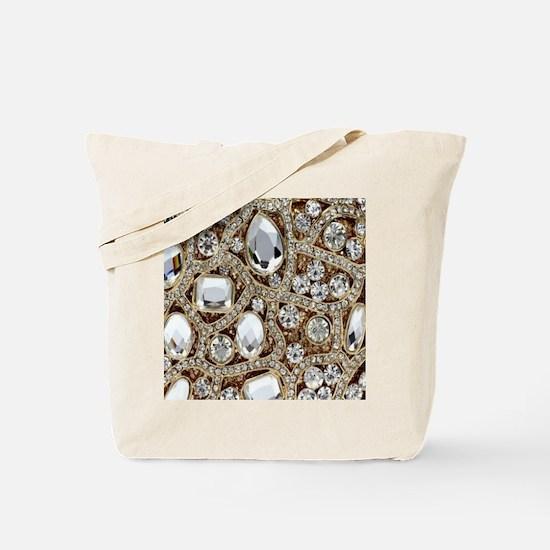 Cute Gold Tote Bag