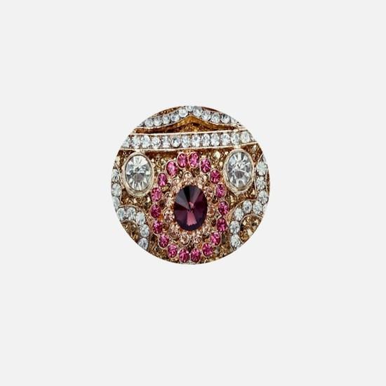 Jewel Mini Button