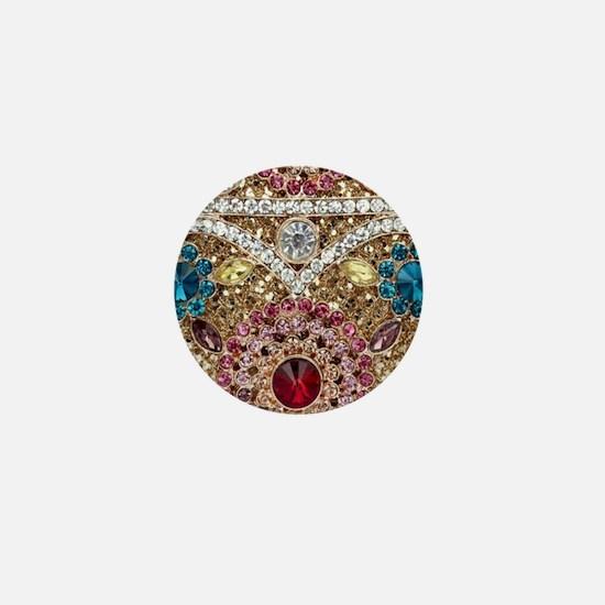 Funny Jewel Mini Button