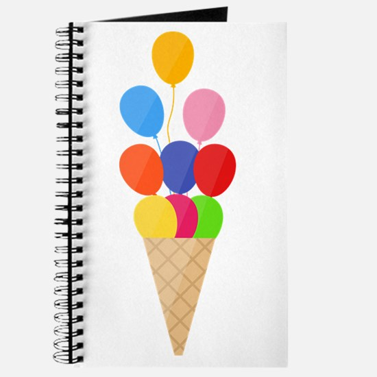 Icecream Baloon Journal