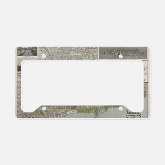Cute Old chicago License Plate Holder