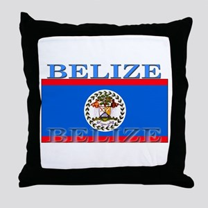 Belize Belizean Flag Throw Pillow