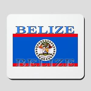Belize Belizean Flag Mousepad
