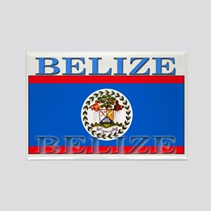 Belize Belizean Flag Rectangle Magnet