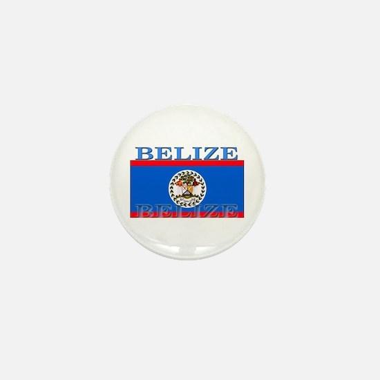 Belize Belizean Flag Mini Button