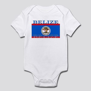 Belize Belizean Flag Infant Bodysuit