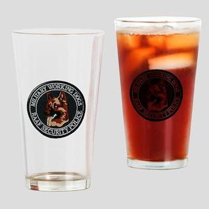 RAAF K-9 Military Police Drinking Glass
