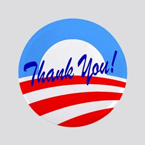 Thank You Obama Button
