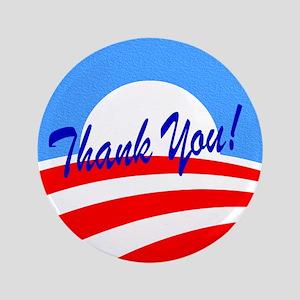 Thank You Obama Button
