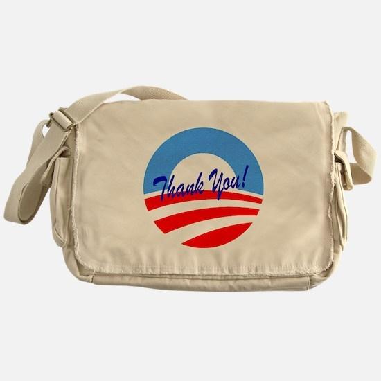 Thank You Obama Messenger Bag