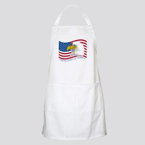 Bald Eagle Flag Apron