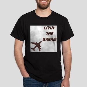 Living The Dream Airplane T-Shirt