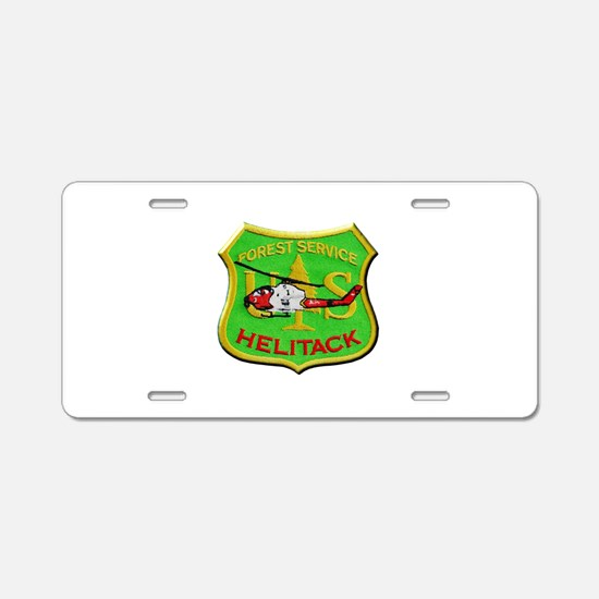 Forest Service Helitack Aluminum License Plate