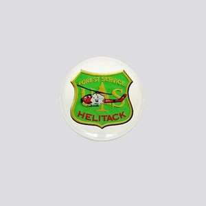 Forest Service Helitack Mini Button